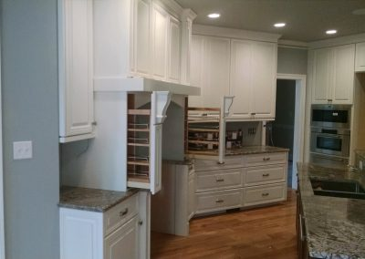 cabinets with spice racks