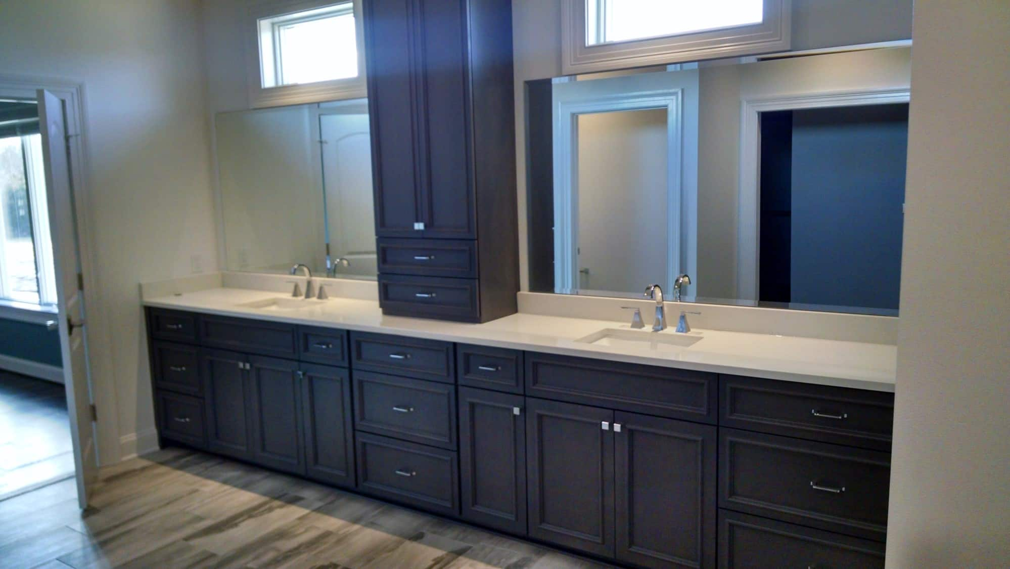 Bathroom Gallery - KWC Custom Cabinetry